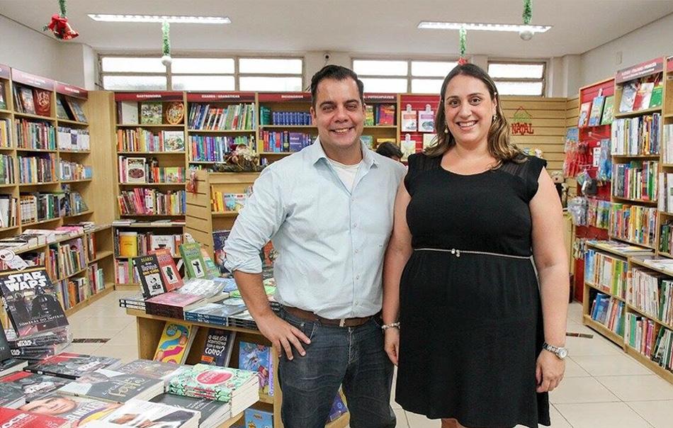 Bruna Caltabiano e Marcelo Noronha da Caltabiano Idiomas
